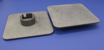 VP 710D3-3 - Deck Accessory Plates for VP 710D3 which Allow Either Conventional Horizontal Stirring or Lateral Vortex Stirring