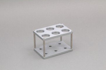 VP 418-6-30-PLA - Tube rack for 50 ml sample tubes (6 tubes)