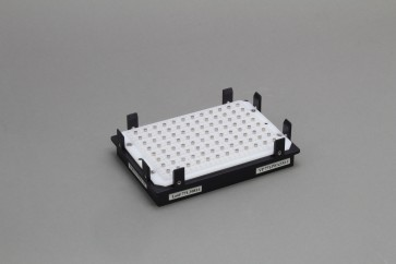 VP 771JWAZM-1 - Magnetic Separation Plate for 96 Well Flat, Round or V Bottom microplates, 96 Magnetic (52 MGO) Cylinders, Includes Registration Base