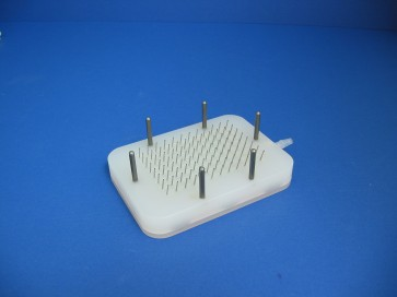 VP 178C - 96 Angled Channel Aspiration Manifold on 9 mm centers and 11 mm long for Microplates