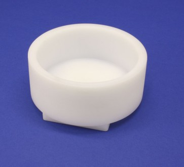 VP 530G  - White Polypropylene Round Reagent Reservoir, Fits on a FX ALP over a Conventional Horizontal Stirrer, Max Capacity 600 ml,  SLAS Footprint in Bottom, 131.25 mm Diameter