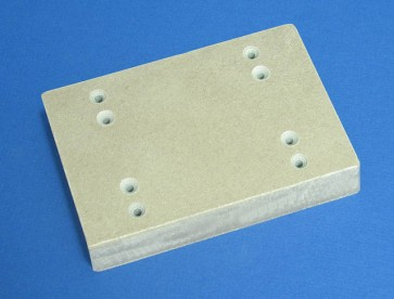 VP 581A-MICA  - Heat Resistant Robotic Deck Adapter for Microplate SLAS Foot Print