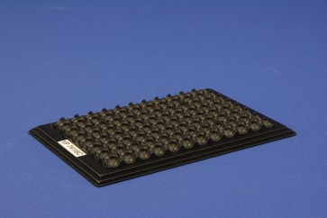 VP 741I6C - Aluminum Heat Block Insert for AbGene 96 Deep Well Microplates #AB-0661, Consists of Sculpted Bottom to Conform to Plate Bottom only, for Efficient Heat Transfer, SLAS Footprint, Designed to be used with any VP 741 or VP 743 Series Heat Block