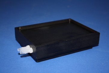 VP 744A-1 - Aluminum Heat Block with Recirculating Cooling or Heating Channels to Cool or Heat Standard or Deep Well Microplates, SLAS Footprint, Designed to be Used on Robot Decks, Outlet Nipples on End