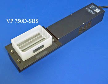 VP 750D-SBS - Delrin Suspension Reservoir for 96 Channel Pipets, 4 Bubble Paddles, Sculpted Bottom, Max Capacity 370 ml, SLAS Footprint