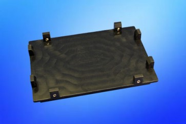 VP 771G-4R - Low profile Registration Base for Magnetic Separation Plates