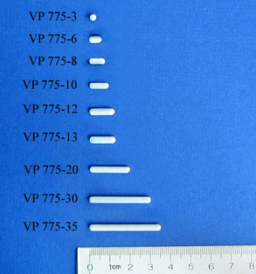 VP 775-30 - PTFE Encapsulated Alnico Stir Bar for Small Vessels & Beakers, 3 mm Diameter x 30 mm Long