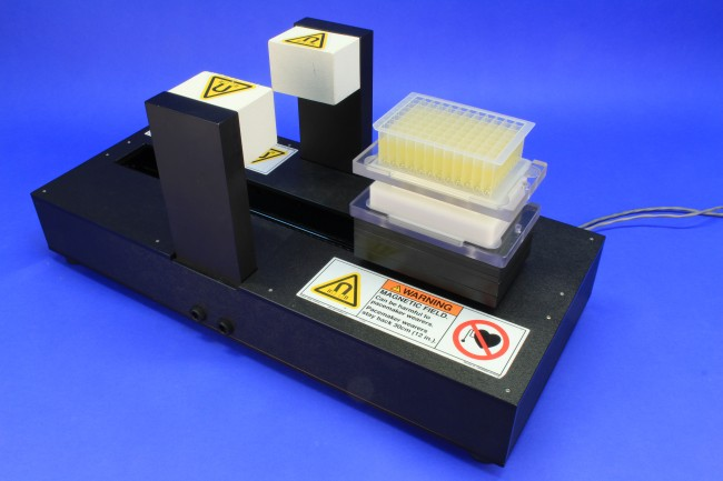 VP 707C - Shuttle Style Levitation Stirrer for 1 Deep Well Microplate, with  One Lift Station, 110 Volts