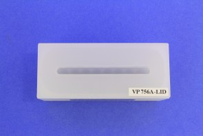 VP 756A-LID - Polypropylene Lid with Slot for Pipet Tips, Mates to VP 756A