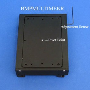 BMPMULTIMEKR - Basic Mounting Plate for Beckman MultiMek Robot with a Rotational Feature