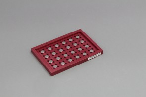 VP 771LC-2C - Magnetic Separation Plate for 96 Well PCR microplates with half Skirt, 24 Magnetic (52 MGO) Cylinders, Not SLAS Footprint, Designed for Tecan Hydroflex Washer