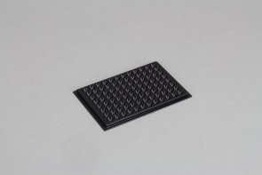 VP 741I6D - Aluminum Heat Block Insert for Corning #3365 or Other U Bottom 96 Deep Well Microplates, for Efficient Heat Transfer, SLAS Footprint, Designed to be used with any VP 741 or VP 743 Series Heat Block