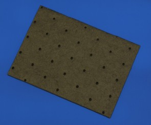 VP 540DB2 - Super Absorbent Pad 115 mm Wide by 160 mm long for Handheld Magnetic Separation Blocks Assays, 10/PKG