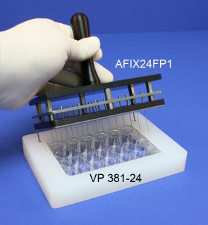 VP 381-24 - Alignment Jig for Registering Multi-Blot Replicators to 24 well Standard Microplates
