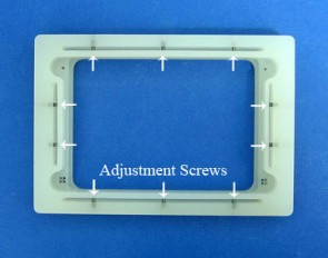 VP 381G - Adjustable Alignment Jig for Registering 96, 384 and 1536 Floating Pin Multi-Blot Replicators to Standard 1536 Well Microplates