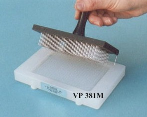 "VP 381M - Alignment Jig for Registering Multi-Blot Replicators to 96 and 384 Well ""Midi"" Microplates"
