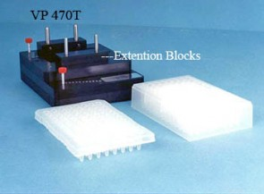 VP 470T - Glass Slide Indexing system for making manual Microarrays using a VP 478T Tall Pin Replicator