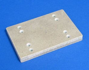 VP 581B-MICA  - Heat Resistant Robotic Deck Adapter for Microplate SLAS Foot Print