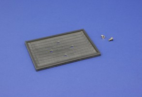 VP 710D3-2 - Deck Accessory Plate Attached to VP 710D3 to Hold a SLAS Footprint Suspension Reservoir
