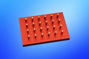 VP 771E-2 - Magnetic Separation Plate for Open Bottom Architecture 96 Well Microplates, 24 Magnets (48 MGO) Cylinders