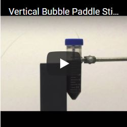Vertical Bubble Paddle Stirrer