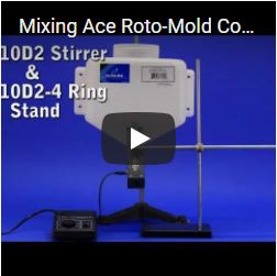 Mixing Ace Roto-Mold Container
