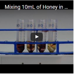 Mixing 10mL of Honey in a 50mL Tube with the VP 710C5 and VP 772FN-24-24