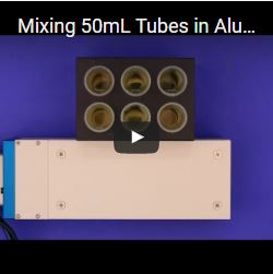 Mixing 50mL Tubes in Aluminum Block with the VP 772FN-24-24 & VP 710C5