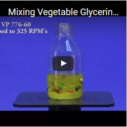 Mixing Vegetable Glycerin with the VP 710D2 & VP 710D2-3