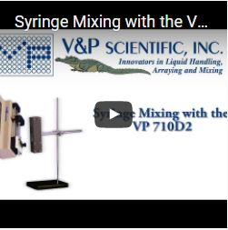 Syringe Mixing with the VP 710D2