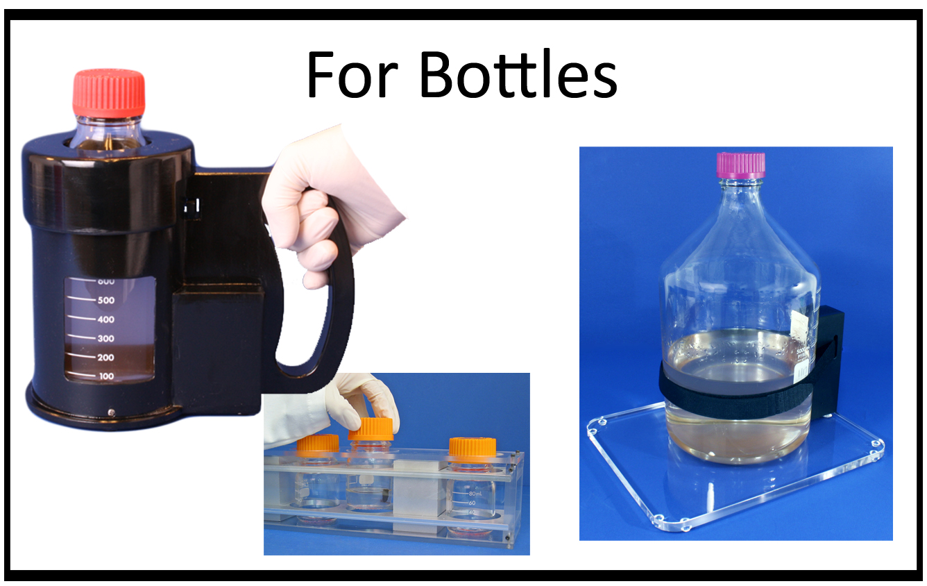 Magnetic Bead Separation Devices for Bottles