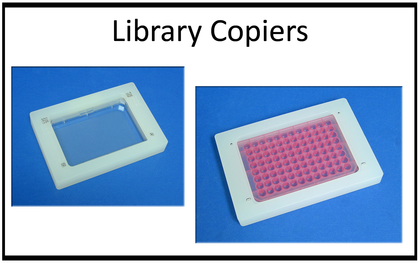 Library Copiers for registration