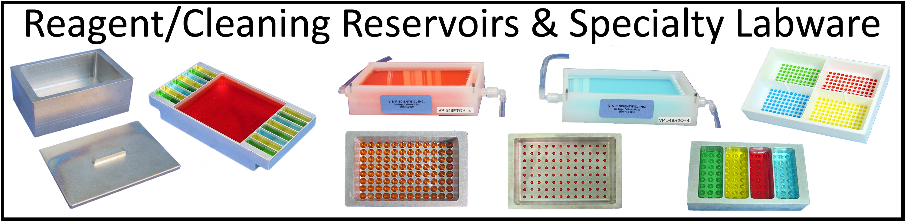 Reagent Reservoirs, Labware, Microplates, Specialty Labware, Controls, Dimples, Low Dead-Volume