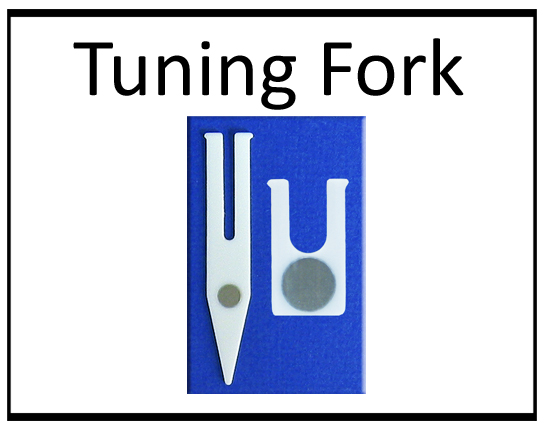 Tuning Fork Button
