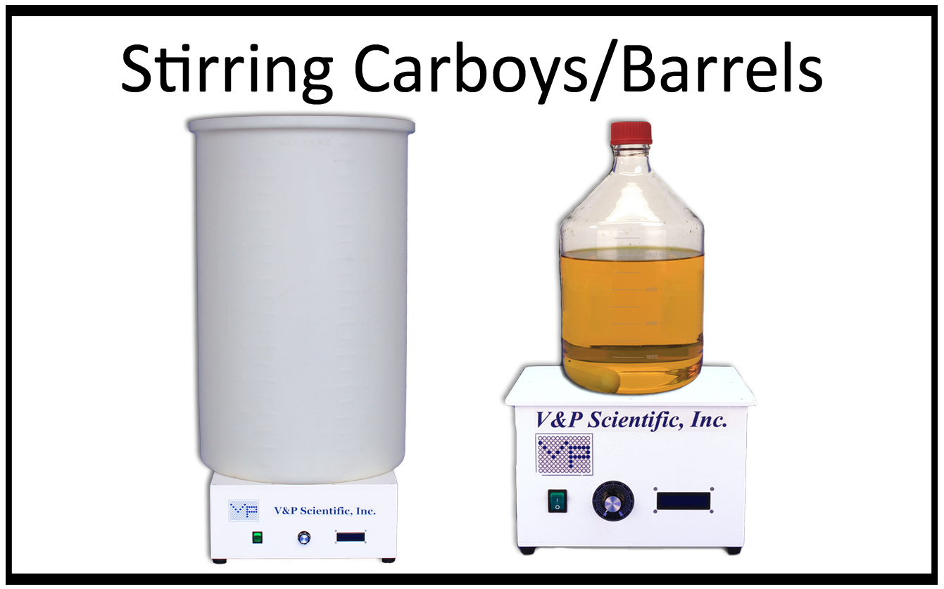Stirring Carboys and Barrels